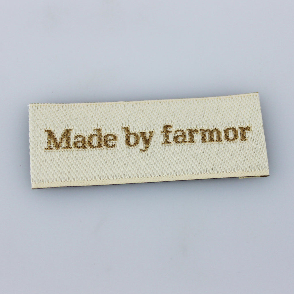 Label - Made by farmor