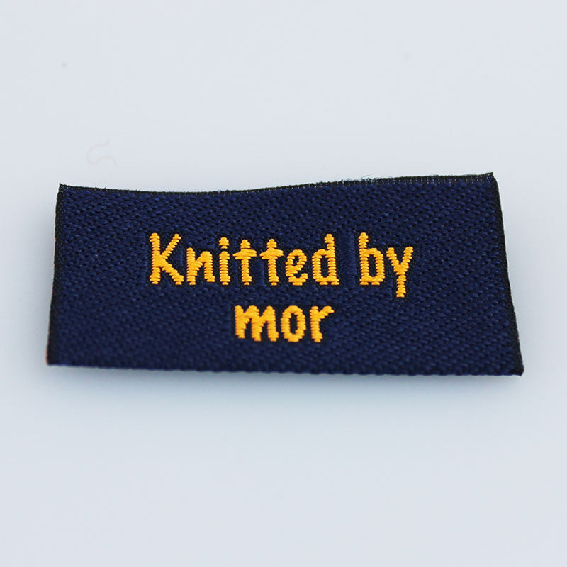 Label - Knitted by mor