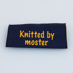 Label - Knitted by moster
