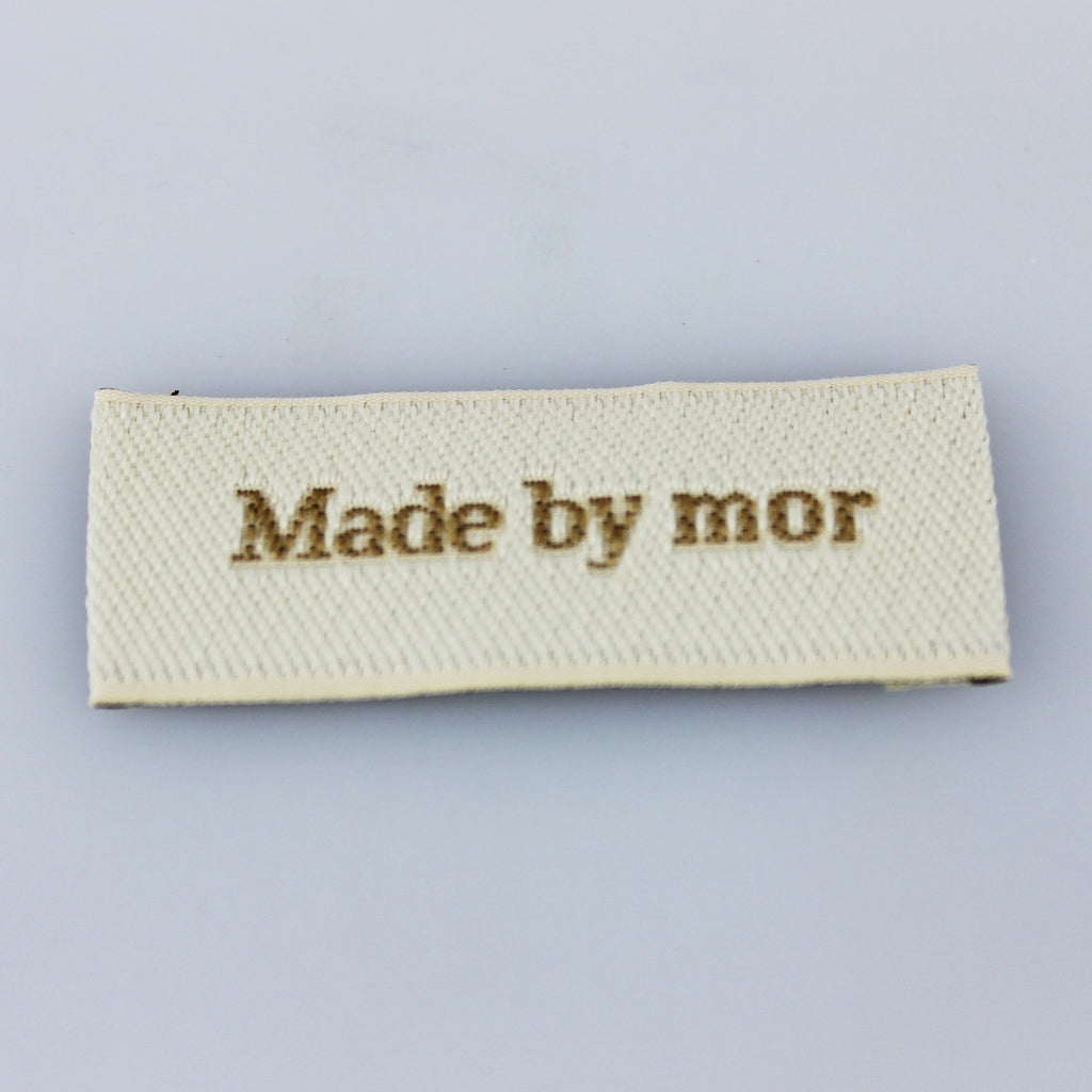 Label - Made by mor