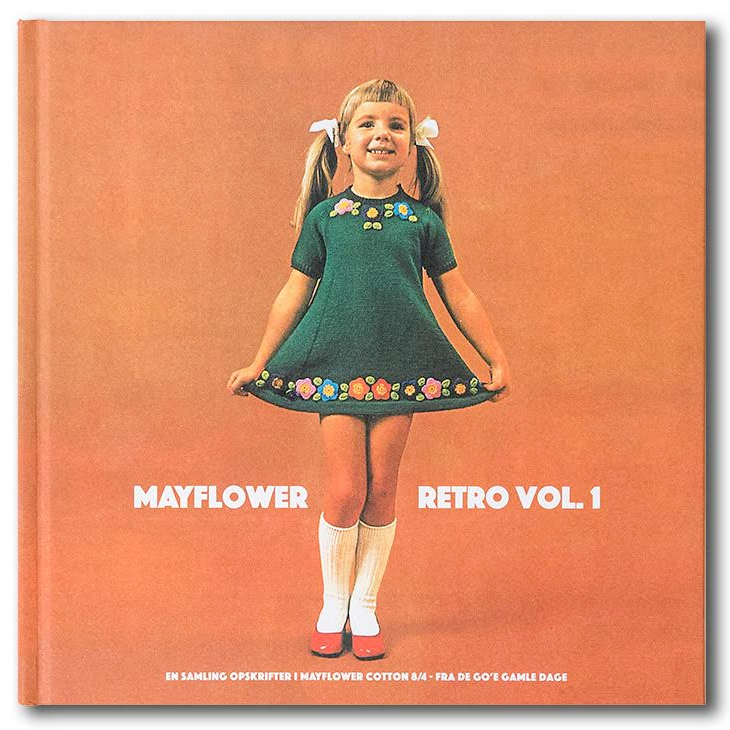 Mayflower Retro Vol.1 - Opskrifter til Cotton 8/4