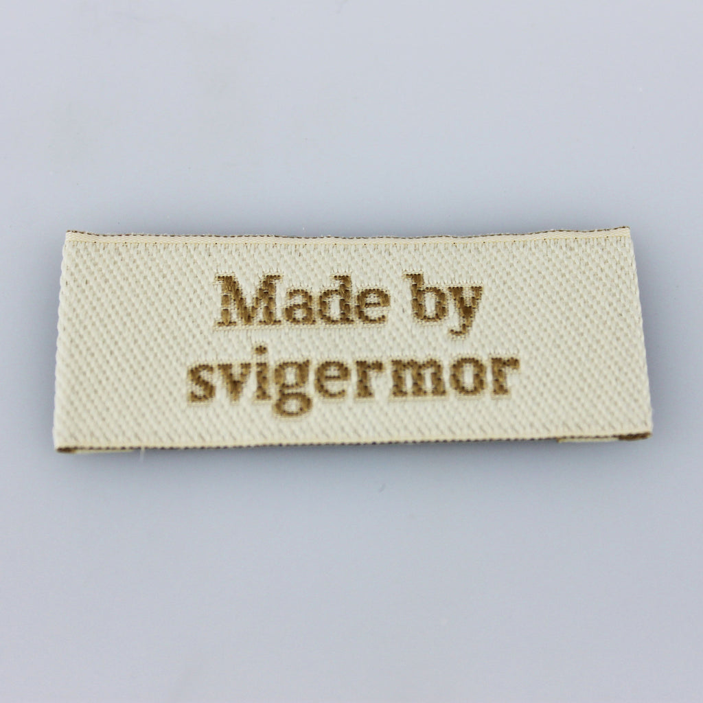 Label - Made by svigermor