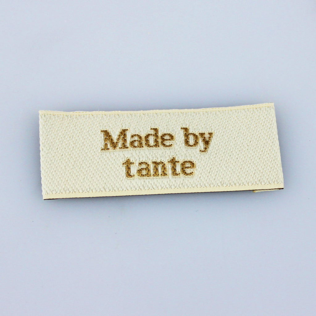 Label - Made by tante