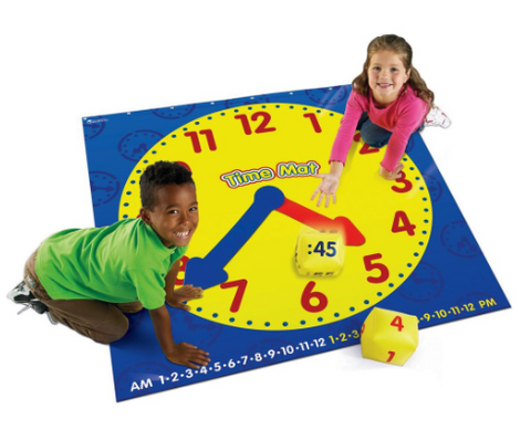 Time Activity Mat for Children