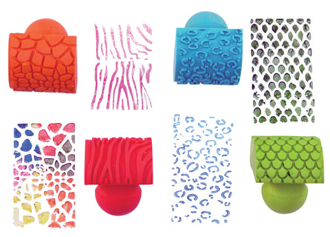 Animal Print Rocker Stampers pk 4