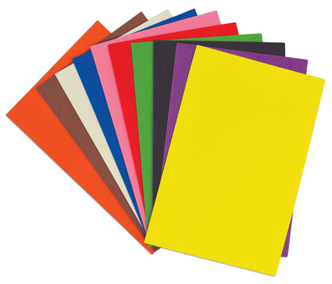A4 Craft Foam Sheets pk 10