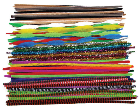 Jumbo Pipe Cleaners Bumper Class Pack pk 250