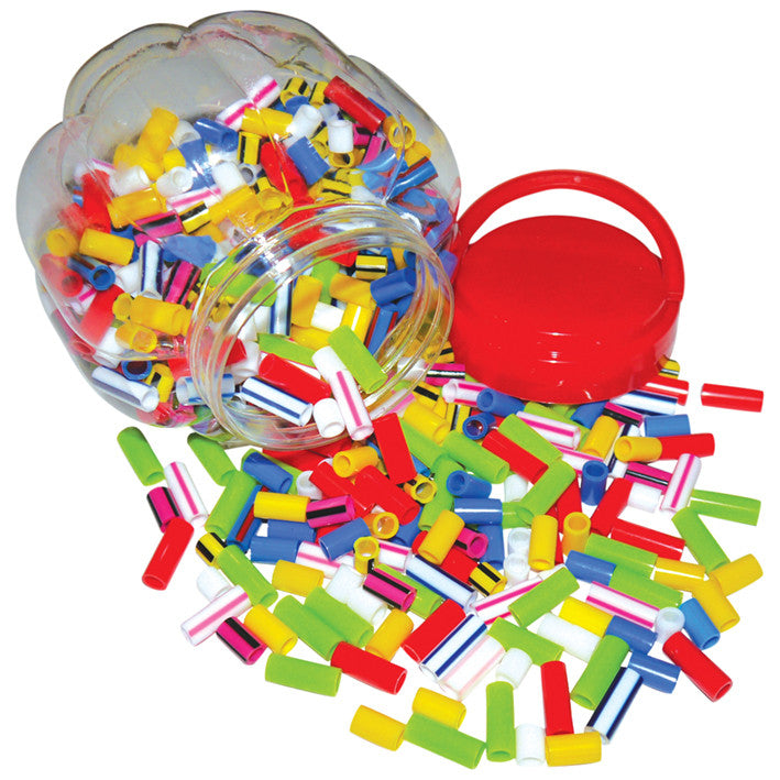 Assorted Straw Beads Tub pk 650