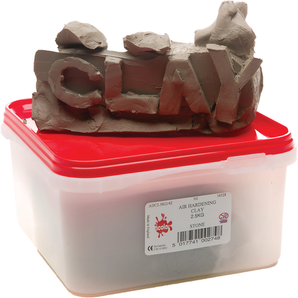 Air Hardening Clay (Terracotta)