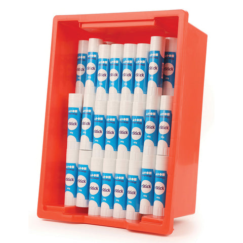 Glue Sticks Class Pack with Tray pk 100