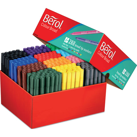 Berol Colourbroad Assortment pk 288