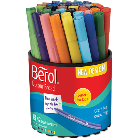 Berol Colourbroad Tub pk 42