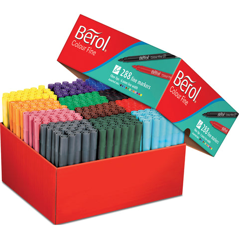 Berol Colourfine Assortment pk 288