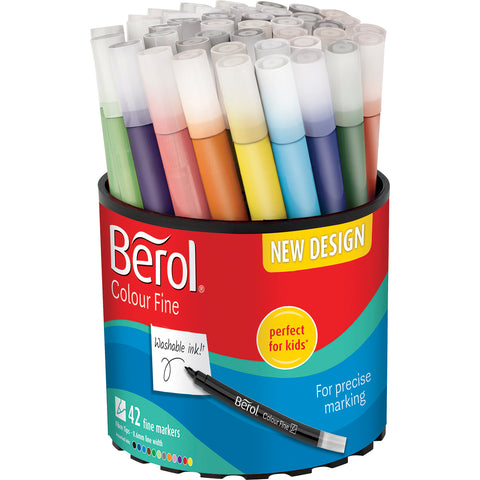 Berol Colourfine Tub pk 42