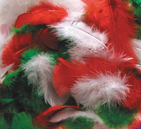 Christmas Feather Selection 14g