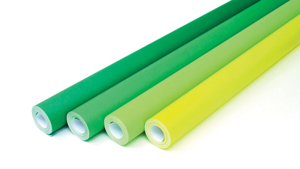 Fadeless Roll Assortment - Greens pk 4