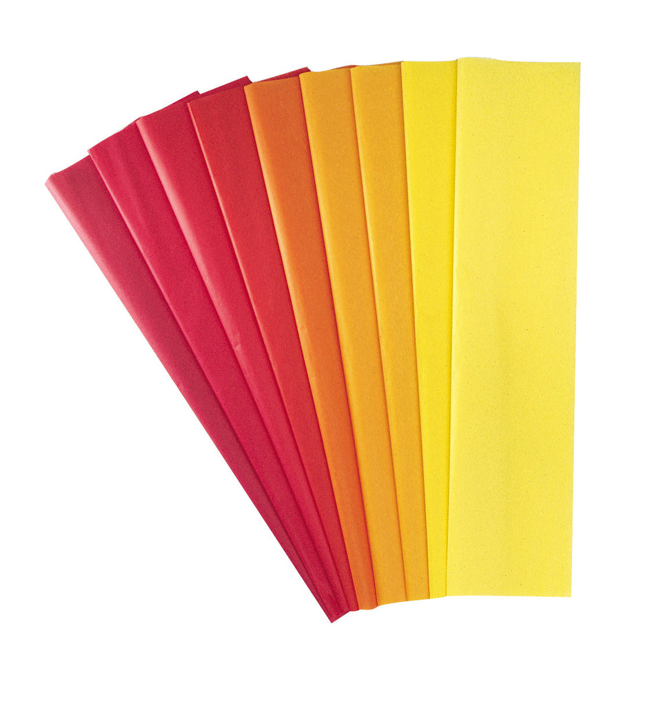 Tissue Paper Assortment - Warm pk 20