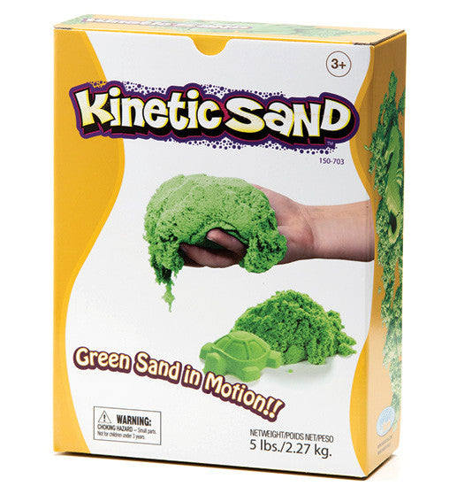 Kinetic Sand - Green 2.27kg