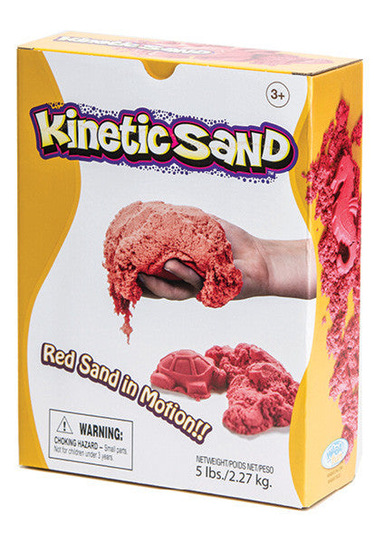 Kinetic Sand - Red 2.27kg