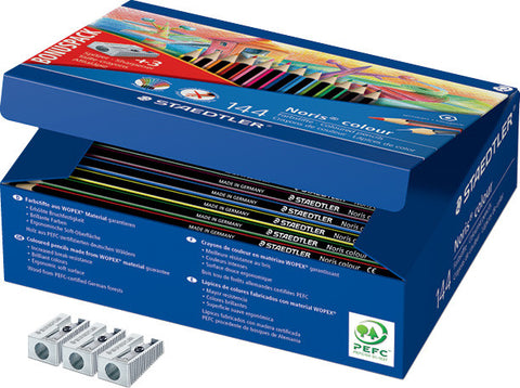 Staedtler Noris Colour Assorted pk 144