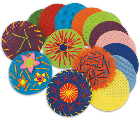 Assorted Binca Circles pk 50