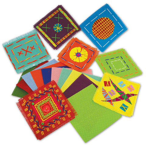 Assorted Binca Squares pk 50
