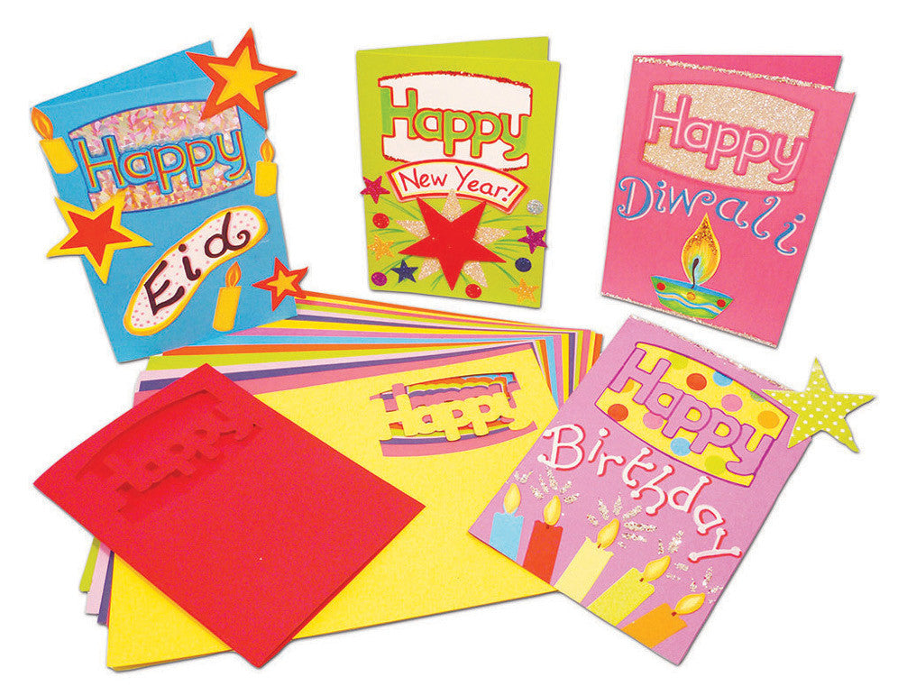 Assorted Happy Cards pk 30