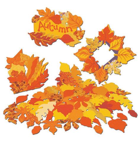 Autumn Leaf Assortment pk 250