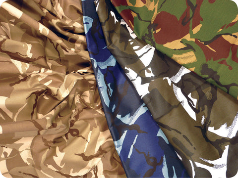 Camouflage Fabric Pack pk 4