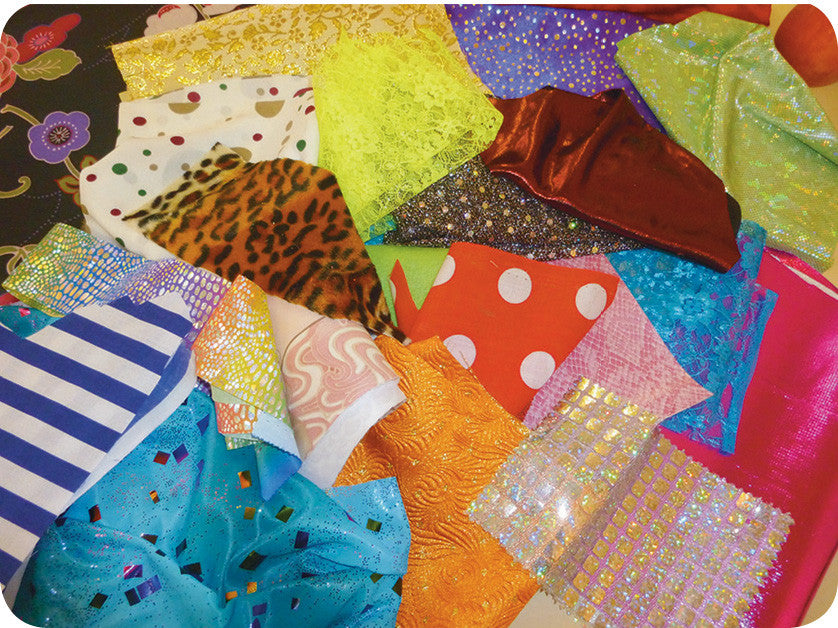 Fabric Offcuts 250g
