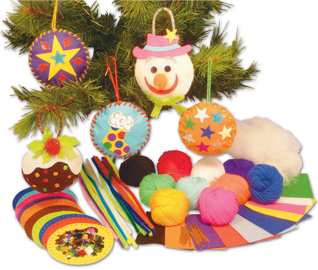 Felt Decorations pk 30