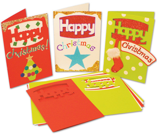 Happy Christmas Cards pk 30