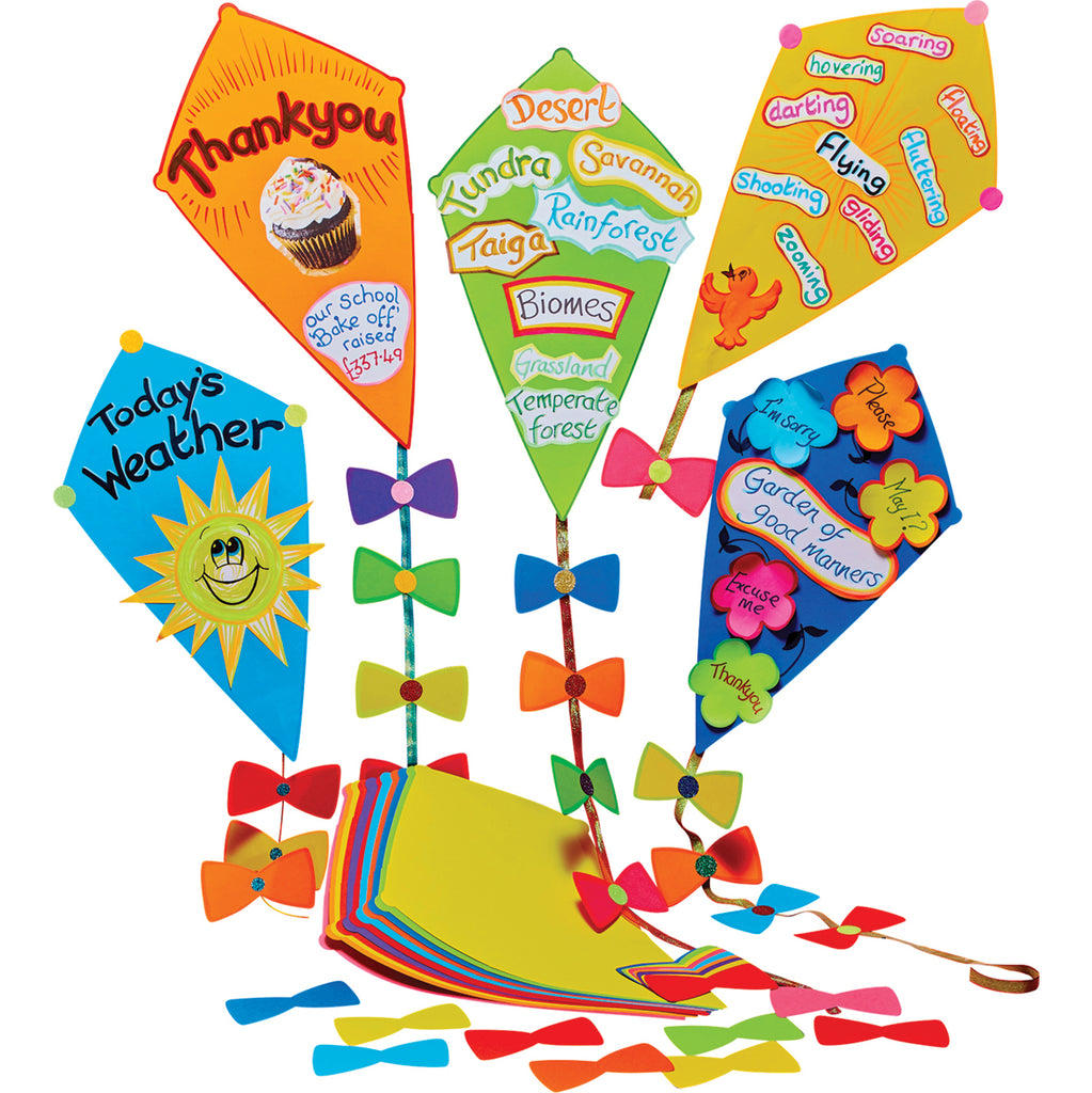 Jumbo Display Kites pk 20