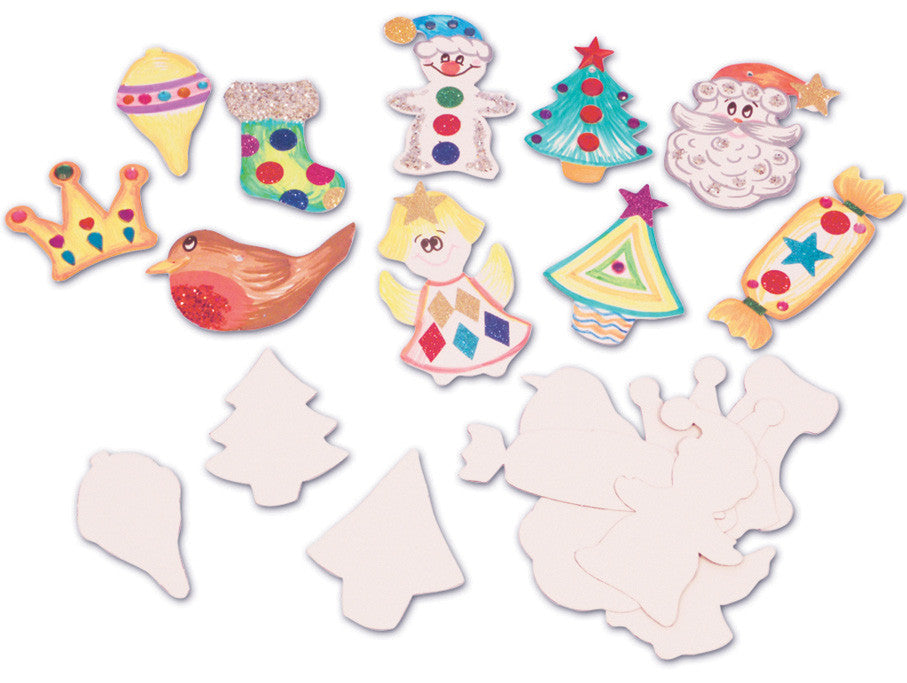 Make A Christmas Magnet Pk 50 Springboard Supplies