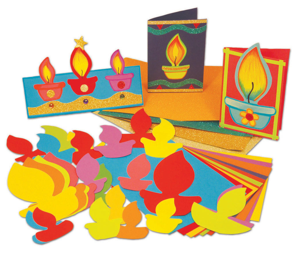 Make a Diwali Card pk 30