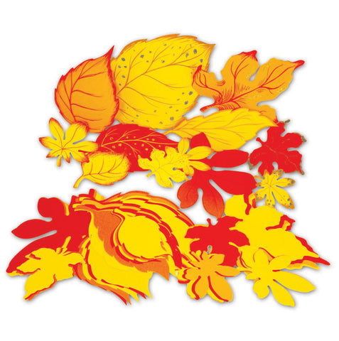 Jumbo Autumn Leaves pk 60