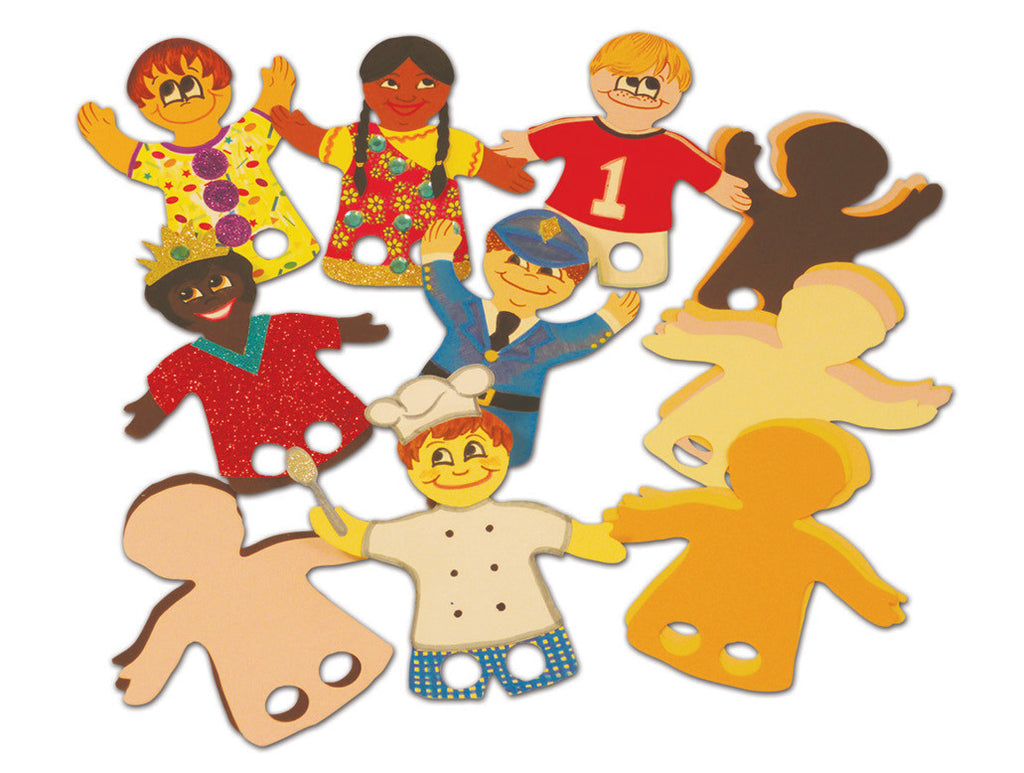 People Finger Puppets pk 50