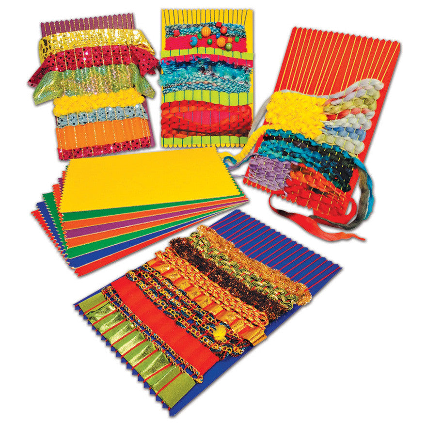 Rainbow Weaving Cards pk 20
