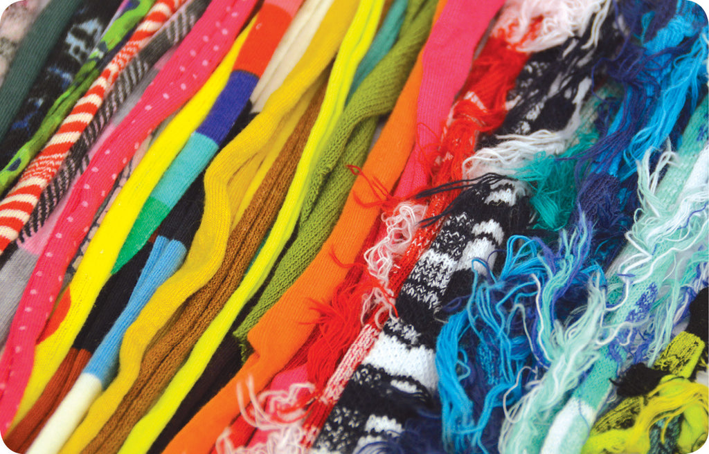 Recycled Rag Yarn Assortment 30m