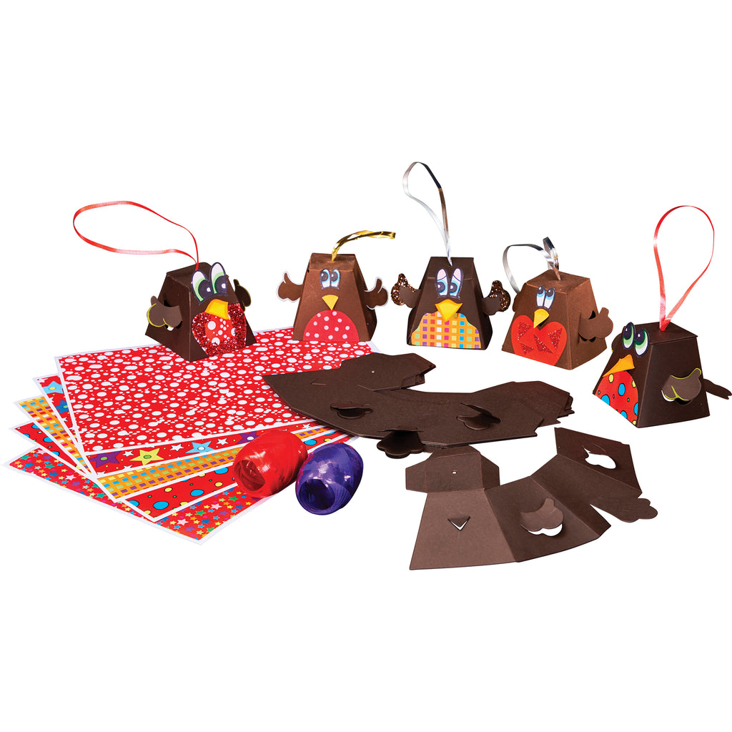 Robin Tree Decorations pk 30