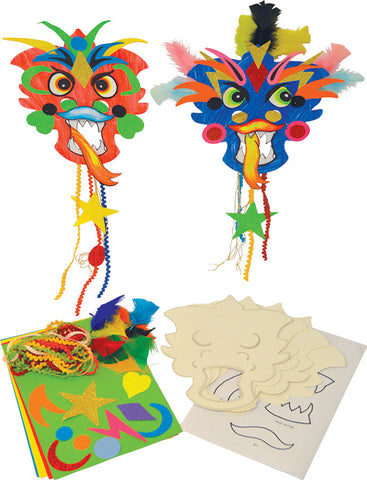 Chinese New Year Dragon Masks pk 20