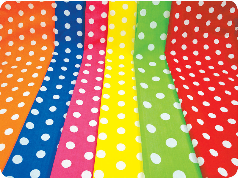 Spot Fabric Bundle pk 6