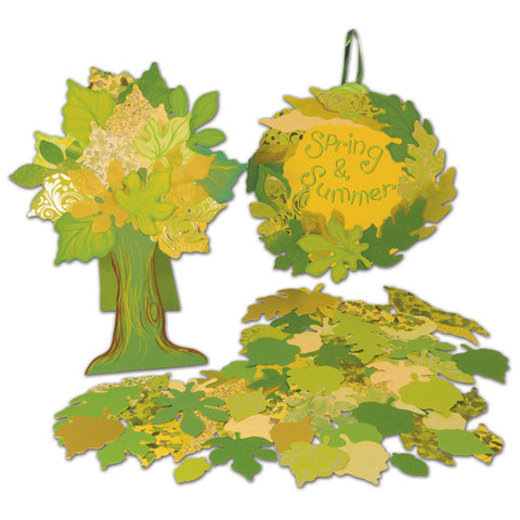 Spring/Summer Leaf Assortment pk 250