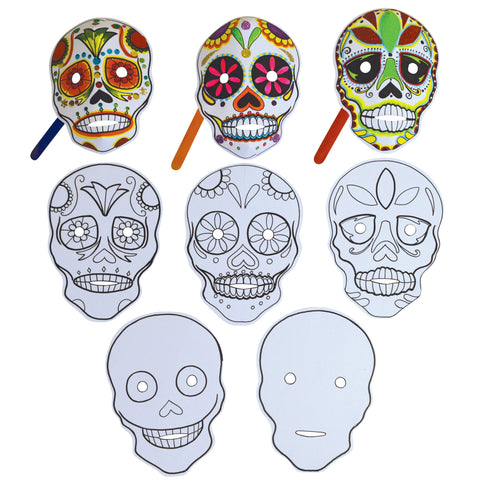 Make a Sugar Skull Mask pk 30