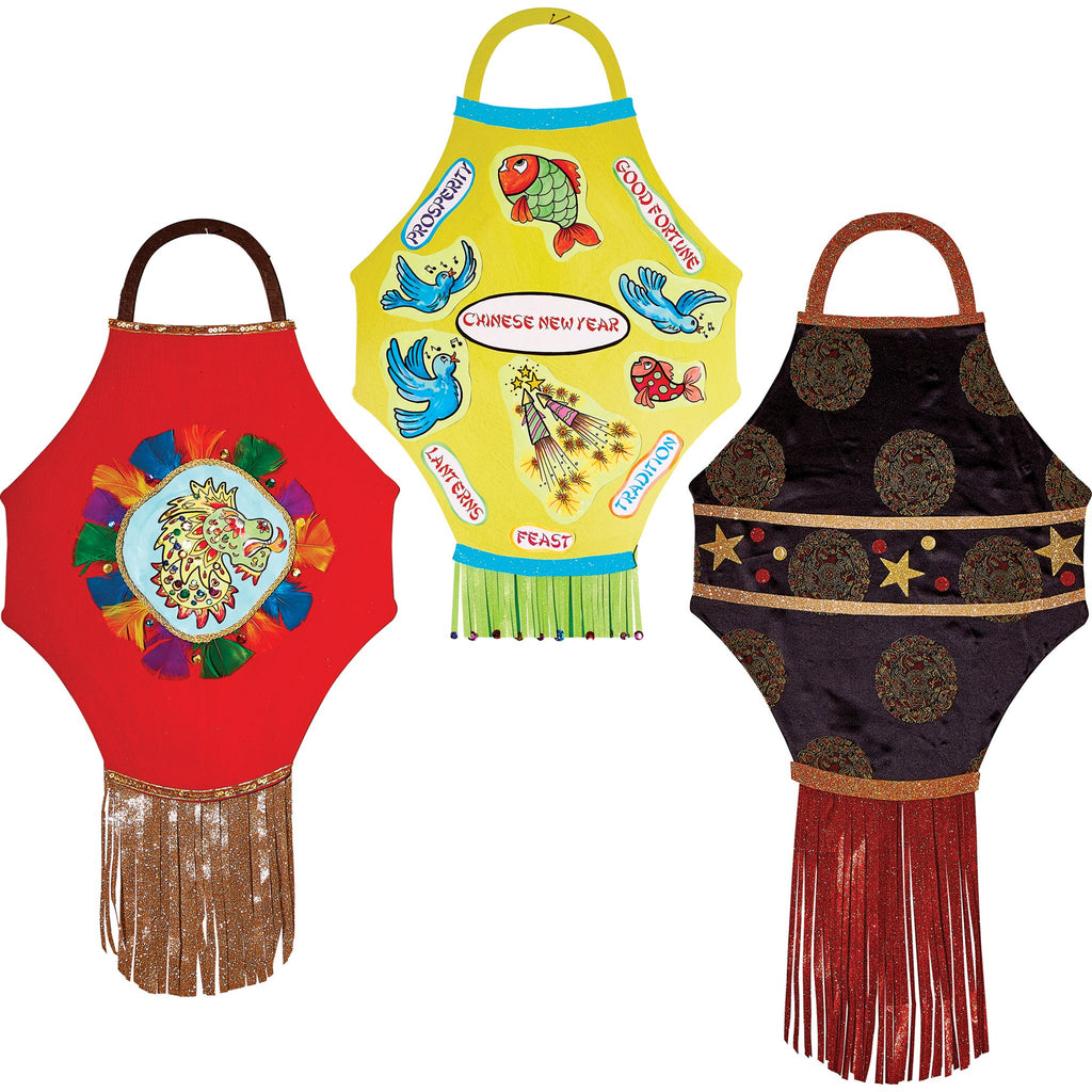 Giant Display Lanterns pk 3