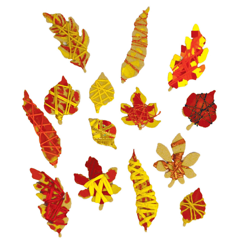 Autumn Wrapping Leaves pk 100