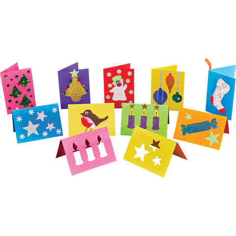 Christmas Cutout Cards pk 54