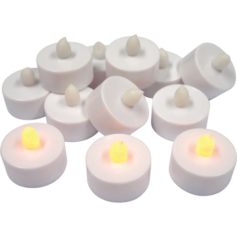 LED Tea Lights pk 12