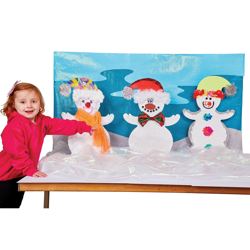 Giant Display Snowmen pk 3