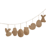 Paper Mache Easter Assortment pk 114